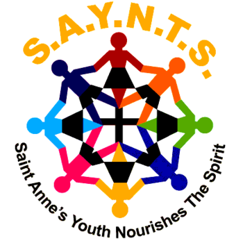 s a y n t s youth group st anne catholic church pensacola fl rh saintannebellview org youth ministry logo maker youth group logo maker